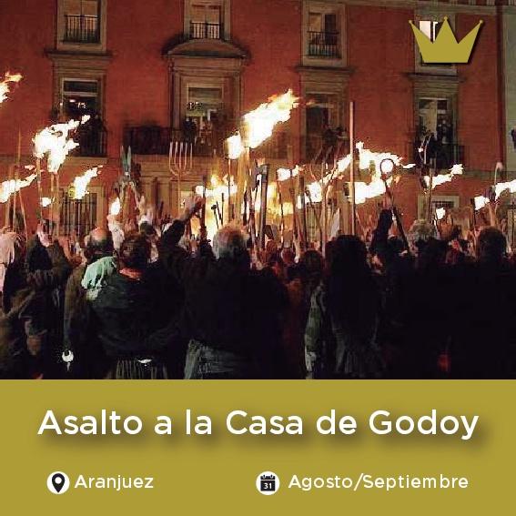 Asalto Casa de Godoy Aranjuez
