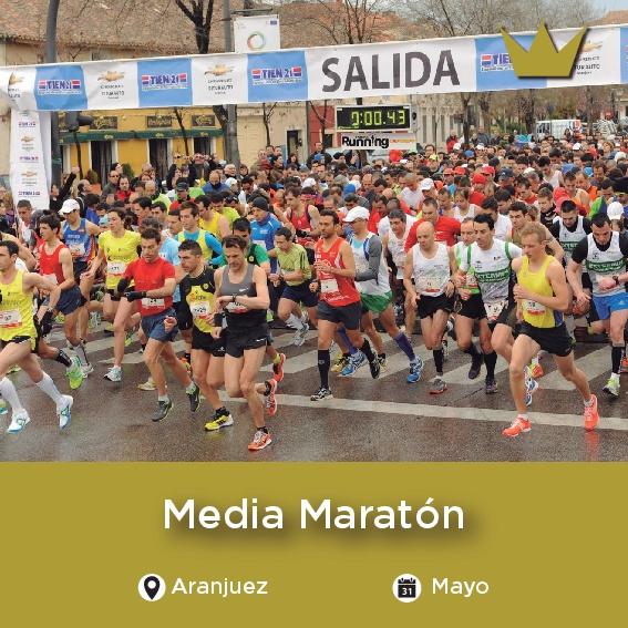 Media Maraton de Aranjuez