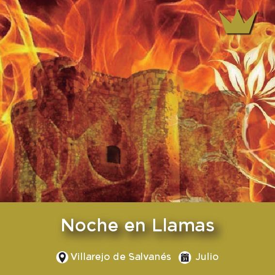 Noche en llamas Villarejo de Salvanés