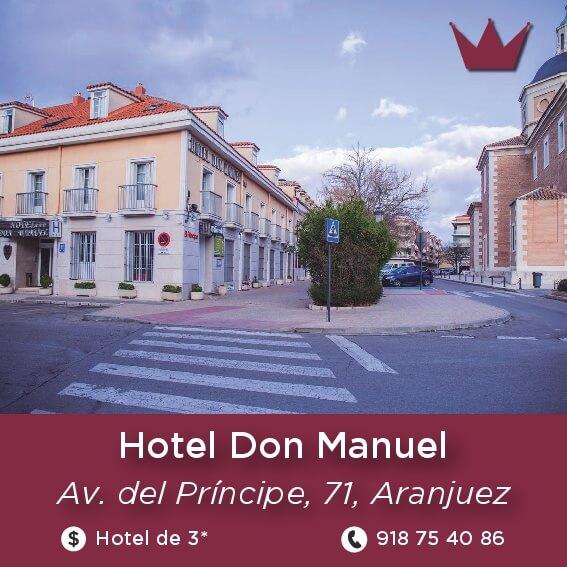 hotel don manuel aranjuez
