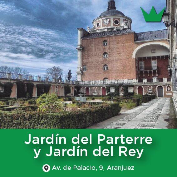 jardin parterre y rey aranjuez