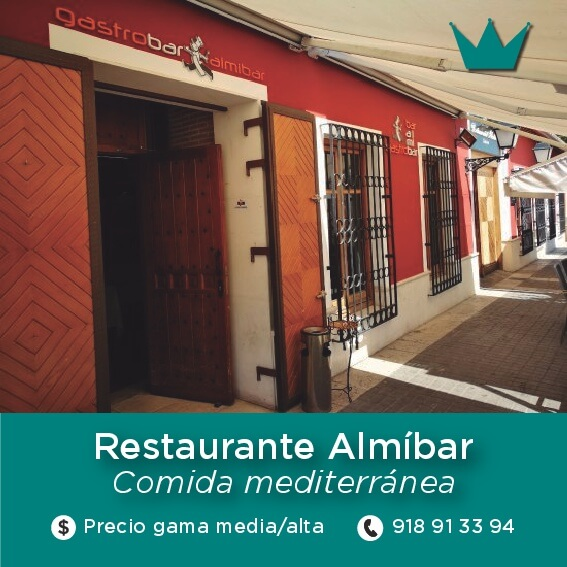 restaurante almibar aranjuez