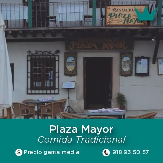 plaza mayor chinchon