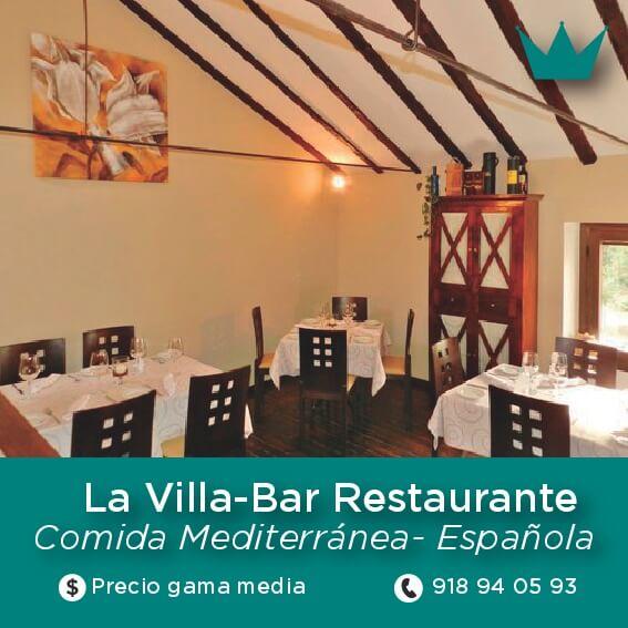 villa bar chinchon