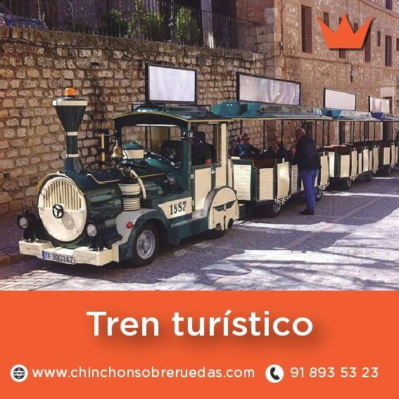 tren turistico chinchon