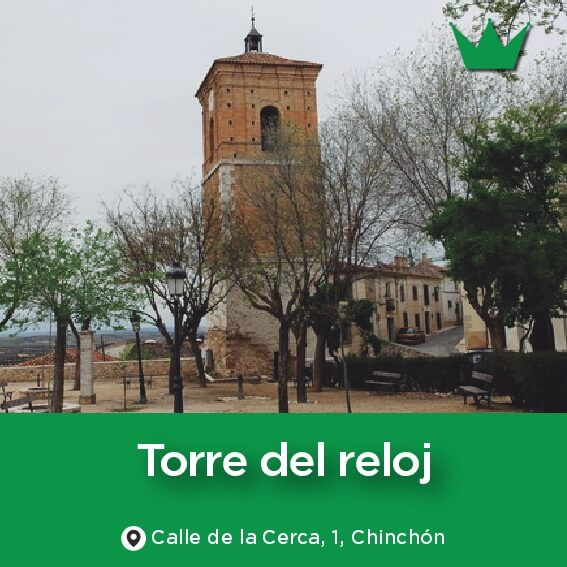torre del reloj CHINCHON