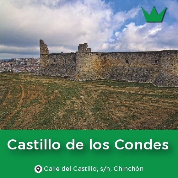 castillo condes chinchon